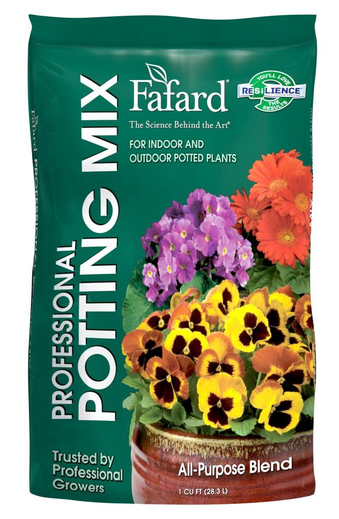 Fafard Professional Potting Mix with RESiLIENCE pack