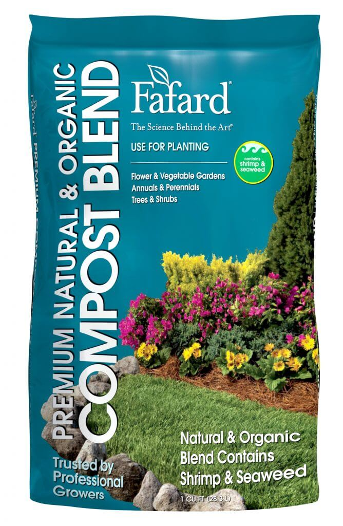 Fafard Premium Natural & Organic Compost Blend pack