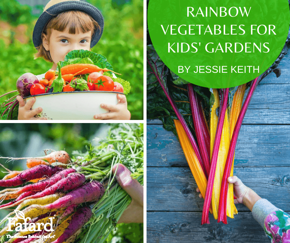 Rainbow Vegetables for Kids' Gardens Featured Image
